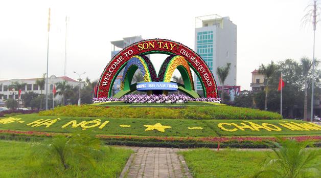 Bảng giá đất thuộc địa bàn thị xã Sơn Tây năm 2011