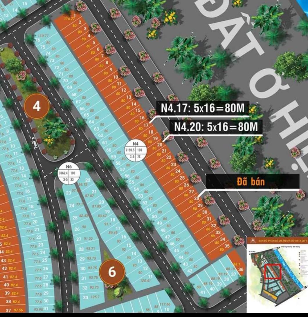 Cần nhượng Shophouse Dự án Mỹ Độ - Bắc Giang, 80m2, chỉ 1,8 tỷ - Ảnh chính