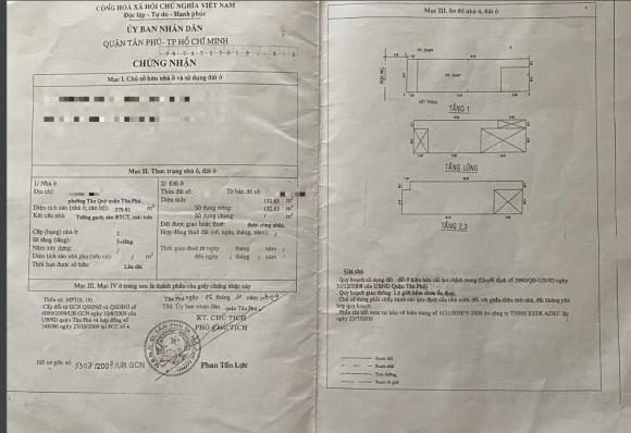 BÁN NHÀ 5 TẦNG 132.63M2 BTCT QUẬN TÂN  PHÚ, TPHCM.  phường Tân Quý, quận Tân Phú, tp HCM - Ảnh 1