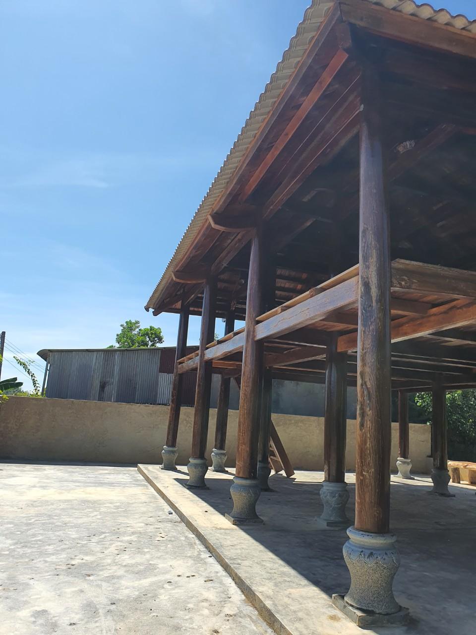 Cần Bán Căn Nhà Gỗ Táu sến.. đường kính cột 35 đến 37 - Cát Tiên Tỉnh Lâm Đồng - Ảnh 2