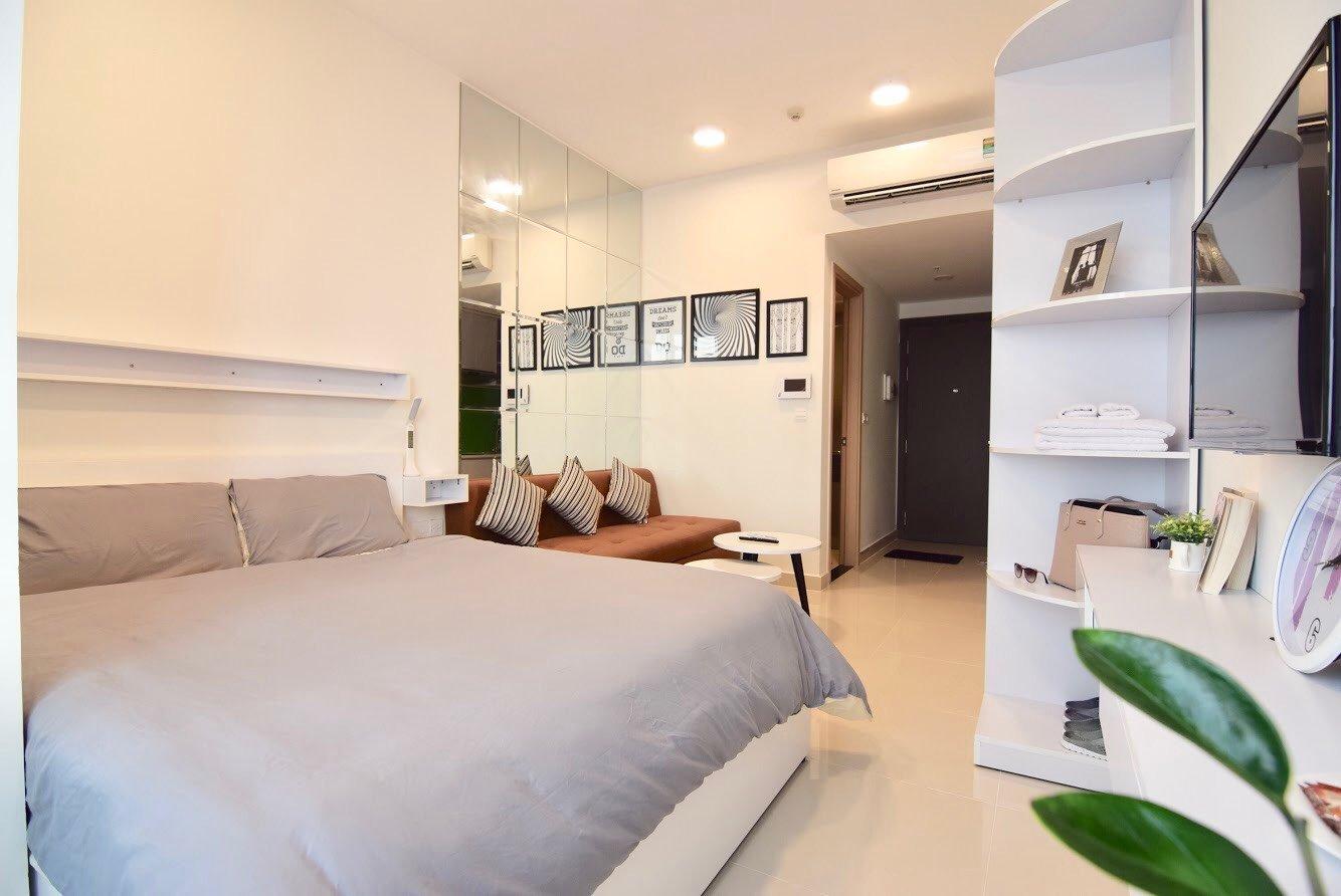 Cho thuê Officetel tại River Gate- giá tốt 11 triệu (bao phí quản lý). - Ảnh 1