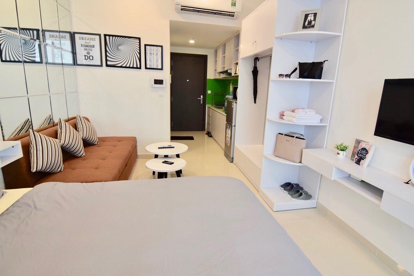Cho thuê Officetel tại River Gate- giá tốt 11 triệu (bao phí quản lý). - Ảnh 2
