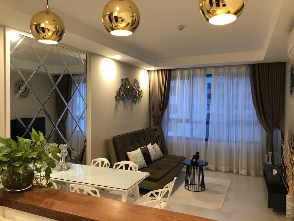 Căn hộ Tresor bến Vân Đồn Q4 lầu cao, view cực đẹp cần cho thuê, 65m2, giá thuê 15tr - Ảnh chính