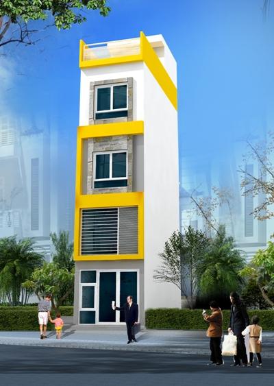 giải pháp xây nhà trên diện tích nhỏ