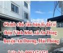 Chính chủ cần bán lô đất ở thôn Vĩnh Khê, xã An Đồng, huyện An Dương, thành phố Hải Phòng