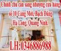 Chính chủ cần sang nhượng cửa hàng số 10 Cảng Mới, Bạch Đằng, Hạ Long, Quảng Ninh