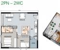 Bán Căn hộ thông minh 2PN chuẩn resort tại quận 12, sở hữu nhà chỉ từ 750 triệu