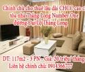 Chính chủ cho thuê lâu dài căn hộ chung cư cao cấp tòa nhà Thăng Long Number One Đại Lộ Thăng Long.