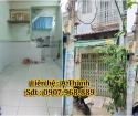 Bán nhà mới 2m6 x 7m6, 1 lầu , Phạm Phú Thứ , Phường 3 ,Quận 6