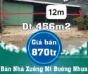 Bán Nhà Xưởng Mặt tiền Đường Nhựa Tại Mỹ Phú Đông – Thoại Sơn – An Giang