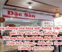 Cần sang nhượng nhà hàng mặt đường Trần Thái Tông gần Duy Tân siêu rẻ, siêu đẹp