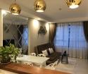 Căn hộ Tresor bến Vân Đồn Q4 lầu cao, view cực đẹp cần cho thuê, 65m2, giá thuê 15tr