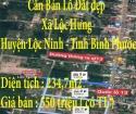 Cần Bán Lô Đất Xã Lộc Hưng ,Huyện Lộc Ninh ,Tỉnh Bình Phước