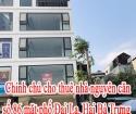 Chính chủ cho thuê nhà nguyên căn số 86 mặt phố Đại La, quận Hai Bà Trưng