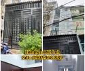 Bán nhà mới 3m2 x 14m, 1 trệt , 2 lầu , Phạm Văn Chí , Phường 4 ,Quận 6