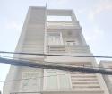Nhà 72m2, 3 tầng, 4PN, 5WC hẻm 154 Đường Âu Dương Lân P3 Q8