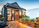 Thiết kế căn hộ nhỏ xinh trên sân thượng
