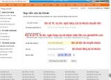 Hướng dẫn nạp tiền vào tại khoản thành viên trên trang nhadat24h.com