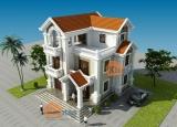Tư vấn thiết kế biệt thự 3 tầng theo kiến trúc Pháp