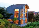 Chiêm ngưỡng ngôi nhà nhỏ với cấu trúc bền vững trên đỉnh cồn cát tại Hà Lan