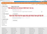 Hướng dẫn UP tin trong danh sách tin đăng trên trang nhadat24h.com