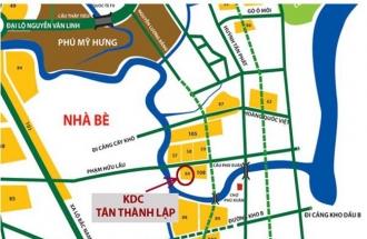 Khu dân cư Tân Thành lập
