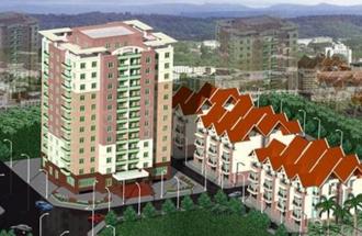 Khu nhà ở Phú Thượng