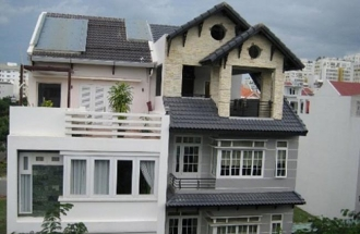 Khu nhà phố Hưng Phước