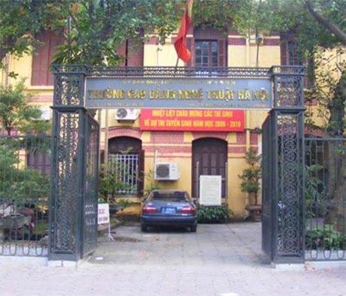 Trường Cao đẳng Nghệ thuật Hà Nội
