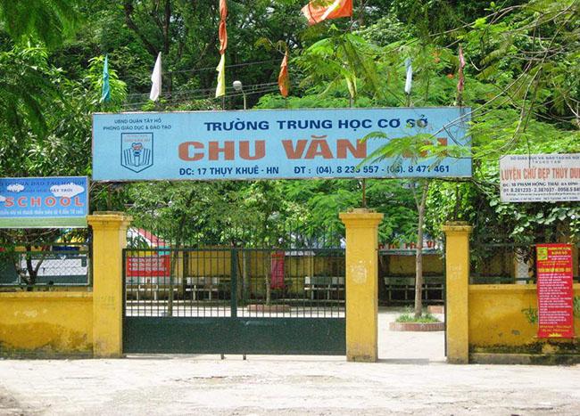 Trường THCS Chu Văn An Thụy Khuê