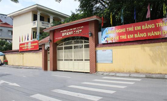 Trường THCS Hoàng Liệt