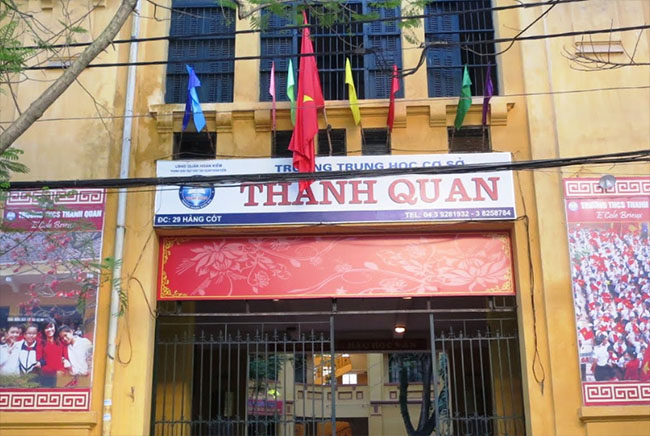 Trường THCS Thanh Quan