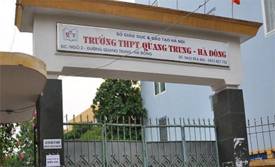Trường THPT Quang Trung Hà Đông